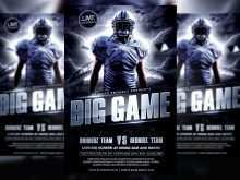 57 Blank Football Flyers Templates For Free with Football Flyers Templates