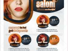57 Blank Salon Flyer Templates For Free for Salon Flyer Templates