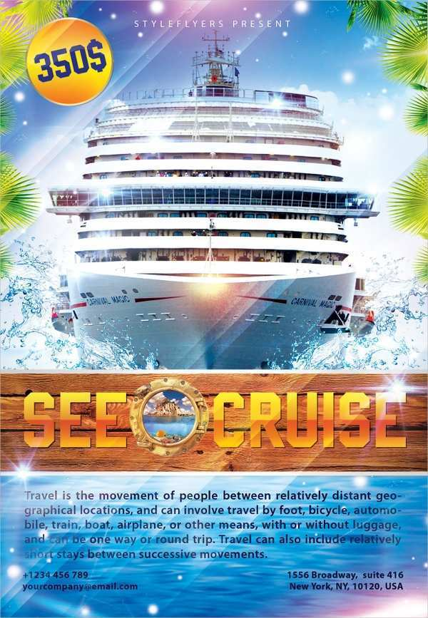 57 Boat Cruise Flyer Template For Free with Boat Cruise Flyer Template