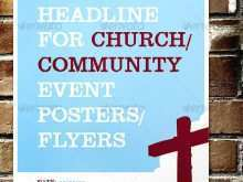 57 Church Event Flyers Free Templates Download for Church Event Flyers Free Templates