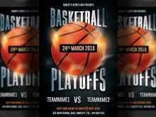 57 Creating Basketball Game Flyer Template Maker for Basketball Game Flyer Template