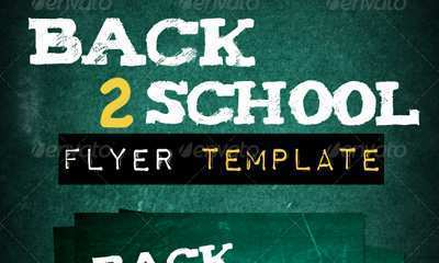 57 Creative Back To School Night Flyer Template Photo with Back To School Night Flyer Template