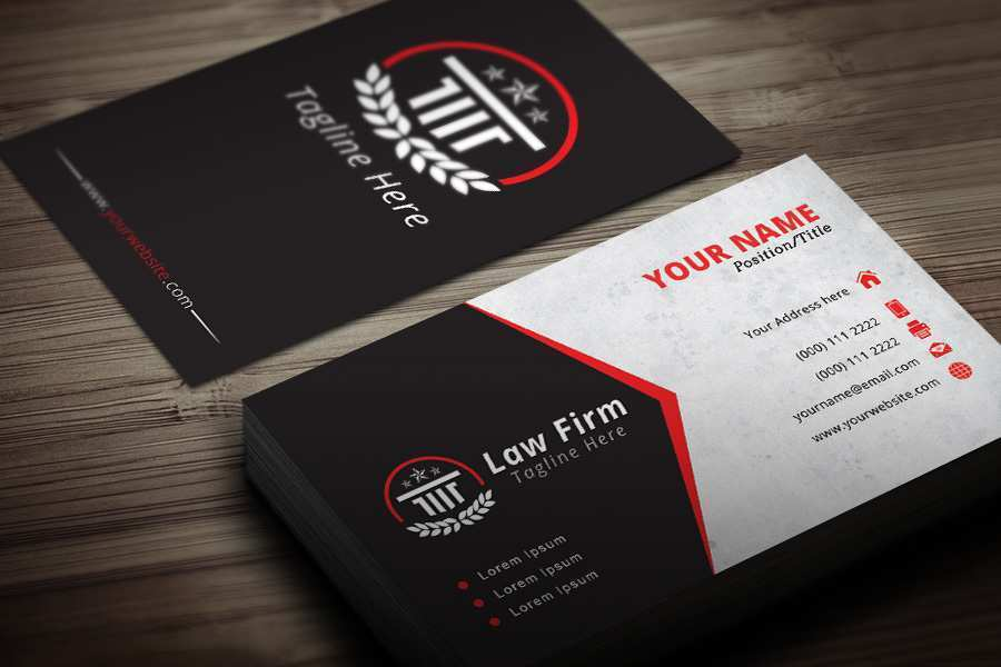 57 Creative Business Card Template Lawyer for Ms Word with Business Card Template Lawyer