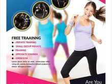 57 Creative Fitness Boot Camp Flyer Template Maker with Fitness Boot Camp Flyer Template