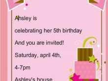 57 Creative Invitation Card Template Birthday Maker for Invitation Card Template Birthday