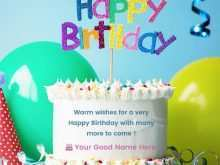 57 Customize Birthday Card Template With Name For Free by Birthday Card Template With Name