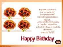 57 Customize Birthday Card Templates Girlfriend Photo for Birthday Card Templates Girlfriend