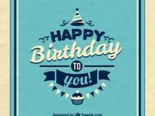 57 Customize Our Free Birthday Card Vintage Template Templates by Birthday Card Vintage Template