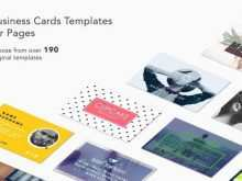 57 Customize Our Free Business Card Templates In Pages Now with Business Card Templates In Pages
