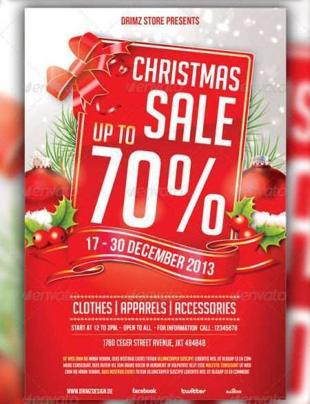 57 Customize Our Free Christmas Sale Flyer Template PSD File by Christmas Sale Flyer Template