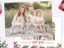 57 Format 5 Photo Christmas Card Template Now with 5 Photo Christmas Card Template