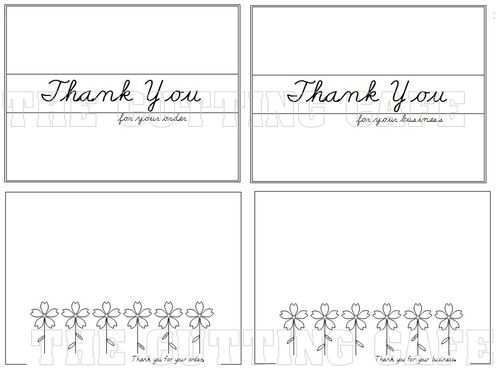 57 Free 4 Fold Thank You Card Template Maker with 4 Fold Thank You Card Template