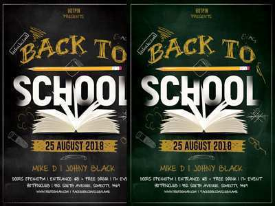 57 Free Back To School Night Flyer Template in Word with Back To School Night Flyer Template
