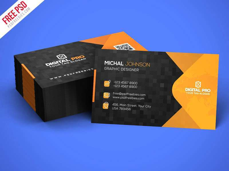 57 Free Card Visit Template Psd Layouts for Card Visit Template Psd