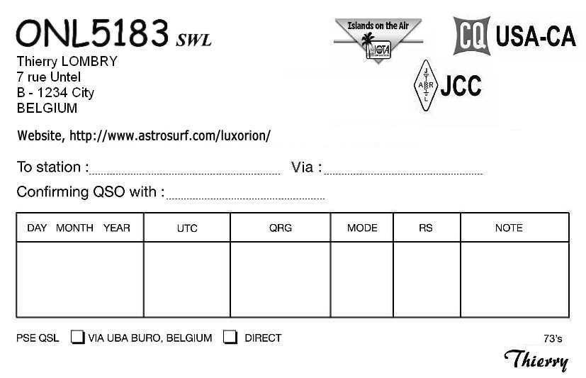 57 Free Free Qsl Card Template Formating for Free Qsl Card Template