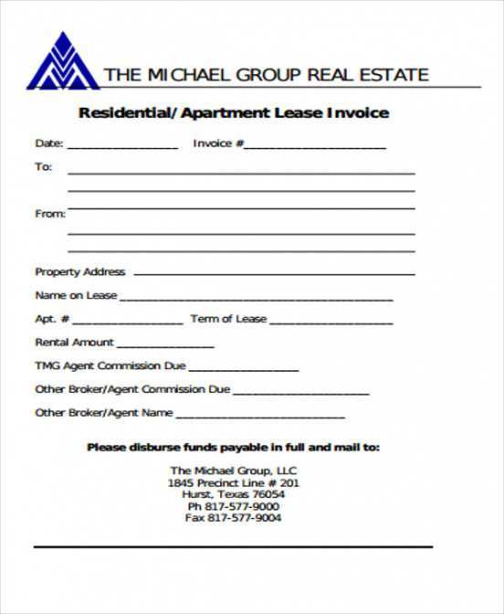 57 Free Invoice Format For Real Estate Templates For Invoice Format For Real Estate Cards Design Templates