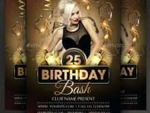 57 How To Create Birthday Party Flyer Template With Stunning Design with Birthday Party Flyer Template