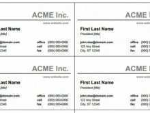57 How To Create Simple Business Card Template Microsoft Word in Word for Simple Business Card Template Microsoft Word