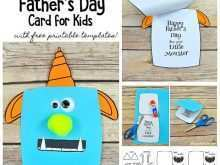 57 Printable Father S Day Card Template For Toddlers Download with Father S Day Card Template For Toddlers
