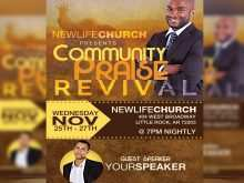 Free Church Flyer Design Templates