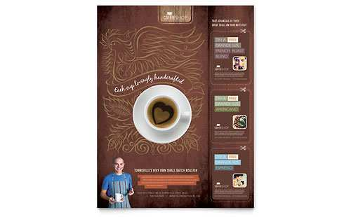 57 The Best Cafe Flyer Template Now by Cafe Flyer Template