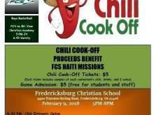 Chili Cook Off Flyer Template Free