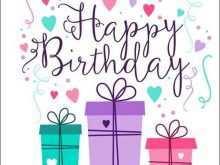 58 Adding Design A Birthday Card Template Formating for Design A Birthday Card Template