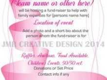 58 Create Breast Cancer Fundraiser Flyer Templates with Breast Cancer Fundraiser Flyer Templates