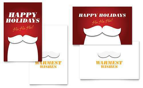 58 Create Christmas Card Template For Indesign With Stunning Design by Christmas Card Template For Indesign