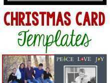 Christmas Card Templates Multiple Photos