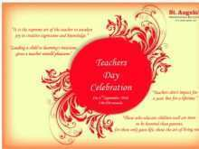 58 Create Invitation Card Format For Teachers Day Formating for Invitation Card Format For Teachers Day