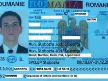58 Create Romanian Id Card Template in Photoshop for Romanian Id Card Template