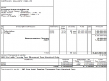 58 Create Tax Invoice Format For Transporter Now for Tax Invoice Format For Transporter