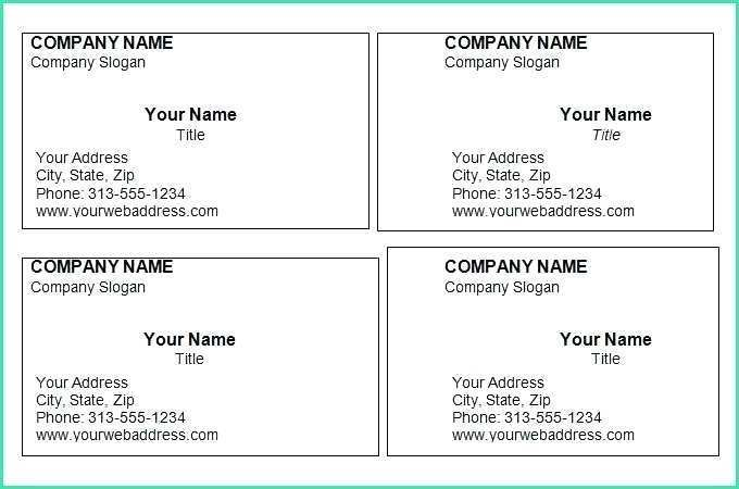 58 Creative Business Card Template Download For Microsoft Word Formating by Business Card Template Download For Microsoft Word