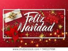 58 Free Christmas Card Template In Spanish Now by Christmas Card Template In Spanish
