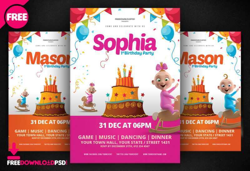 58 Free Free Birthday Flyer Template Word PSD File by Free Birthday Flyer Template Word