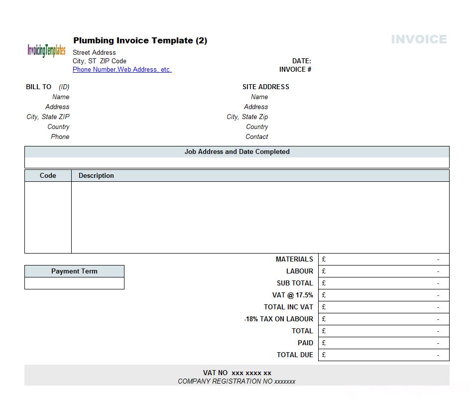 58 Free Free Printable Vat Invoice Template Uk in Word for Free Printable Vat Invoice Template Uk