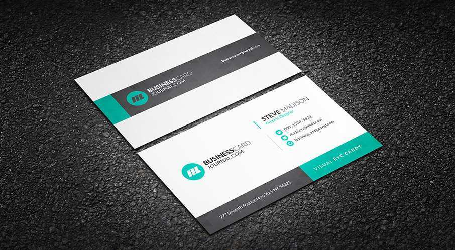 58 Free Printable Business Card Corporate Templates Photo by Business Card Corporate Templates