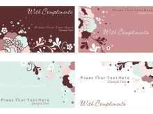 58 Free Printable Floral Business Card Template Psd Photo by Floral Business Card Template Psd