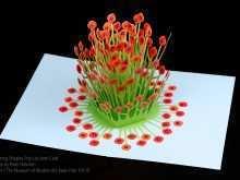 58 Free Printable Flower Pop Up Card Templates Peter Dahmen in Word for Flower Pop Up Card Templates Peter Dahmen