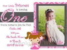 58 How To Create Birthday Invitation Card Template For Girl Now for Birthday Invitation Card Template For Girl