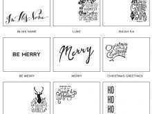 58 How To Create Christmas Card Templates Black And White With Stunning Design for Christmas Card Templates Black And White