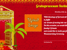 58 How To Create Invitation Card Format For Griha Pravesh Now with Invitation Card Format For Griha Pravesh