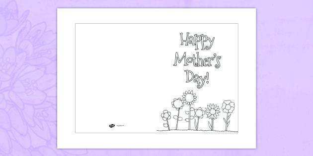 58 Online Mother S Day Card Templates Kindergarten Photo for Mother S Day Card Templates Kindergarten