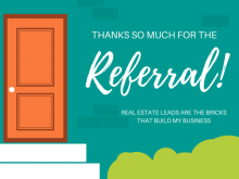 58 Online Thank You Card Template Real Estate Download for Thank You Card Template Real Estate