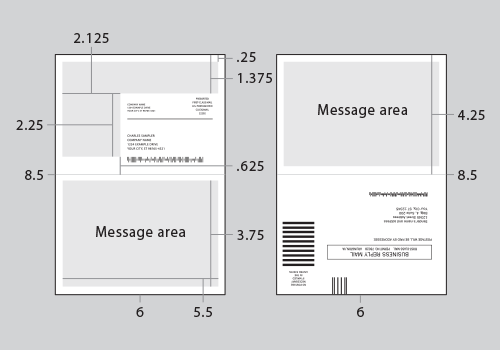 58 Printable 6 5X9 Postcard Template Layouts by 6 5X9 Postcard Template