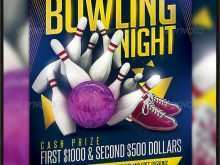 58 Printable Bowling Flyer Template Free PSD File with Bowling Flyer Template Free