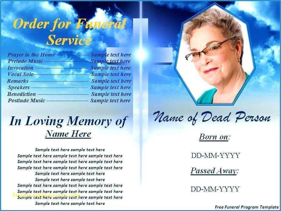 58 Report Memorial Benefit Flyer Template Now for Memorial Benefit Flyer Template