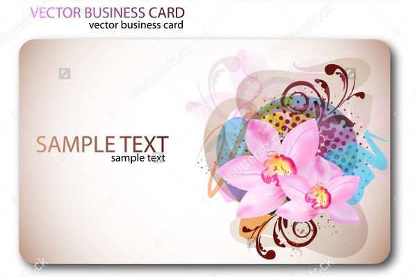 58 Standard Floral Business Card Template Free Download For Free with Floral Business Card Template Free Download
