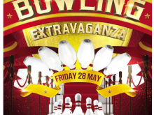 58 The Best Bowling Flyer Template Free Templates for Bowling Flyer Template Free